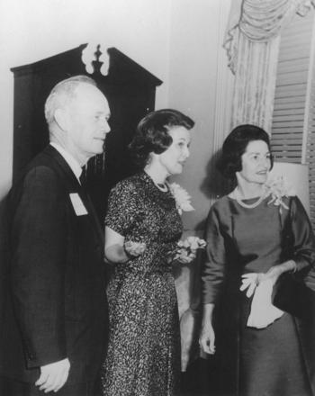 Governor & Mrs. Bryant with Mrs. Lady Bird Johnson, 1964