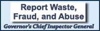 Report Waste Fraud and Abuse Logo