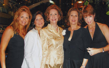 Mrs.Graham & daughters, ca. 2006