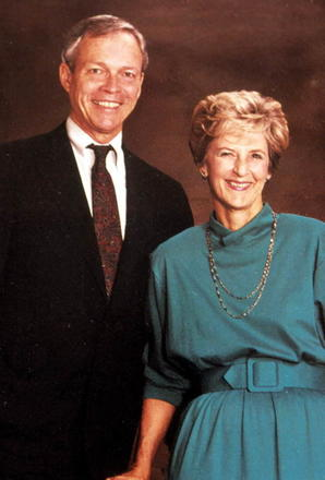 Governor & Mrs. MacKay [picture taken while Lt. Governor], ca.1995