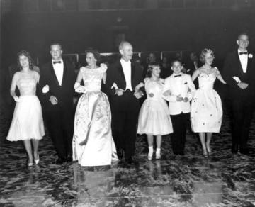 The Bryants at the Inaugural Ball, 1961