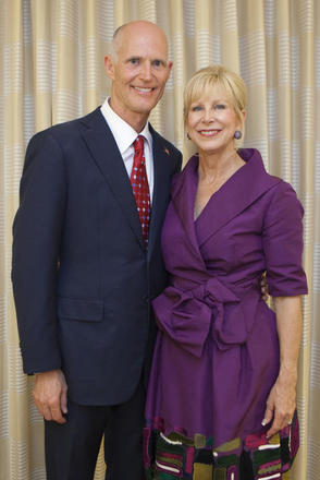 Governor & First Lady Scott